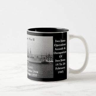 USS Whitley (AKA-91) Tazas De Café