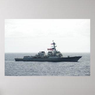 USS Winston S. Churchill (DDG 81) Póster