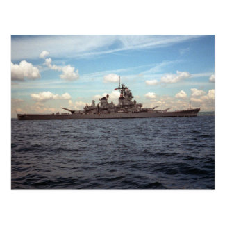 USS Wisconsin (BB-64) Postcard