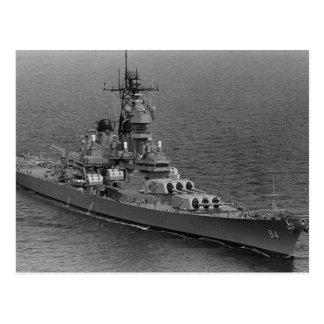 USS Wisconsin (BB-64) Post Cards