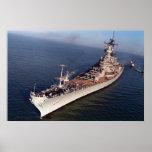 USS Wisconsin (BB-64) Poster