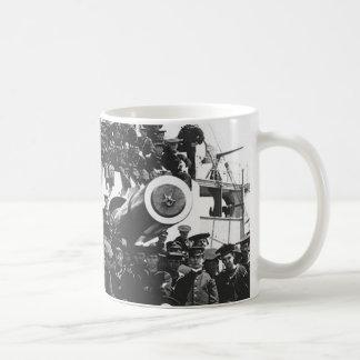 USS. Wisconsin Coffee Mug