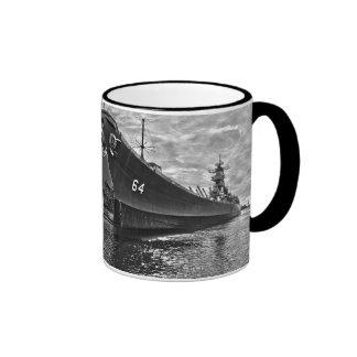 USS Wisconsin Coffee Mug