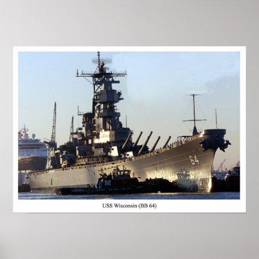 USS Wisconsin Impresiones