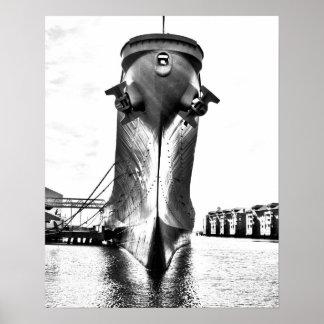 USS Wisconsin Print