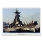 USS Wisconsin Posters