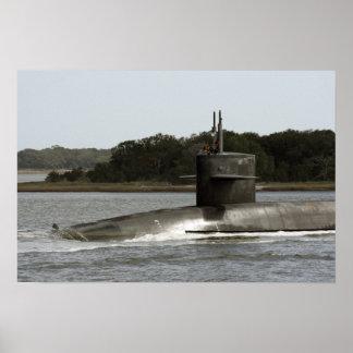 USS Wyoming (SSBN 742) Póster