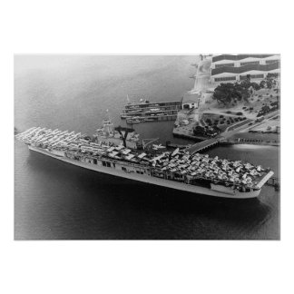 USS Yorktown Póster
