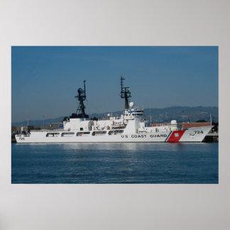 USS Yukon sealift command oiler Print