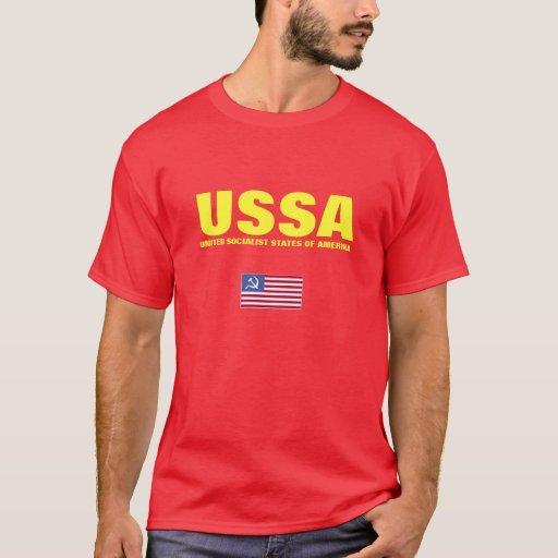 USSA - ESTADOS SOCIALISTAS UNIDOS DE AMERIKA PLAYERA