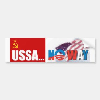 ¡USSA… ninguna manera! Pegatina Para Auto