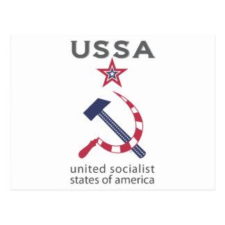 USSA POSTCARD