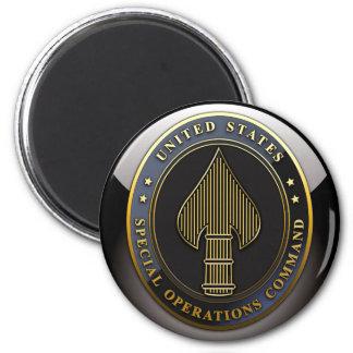 USSOCOM Emblem 2 Inch Round Magnet