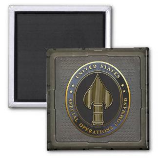 USSOCOM Emblem 2 Inch Square Magnet