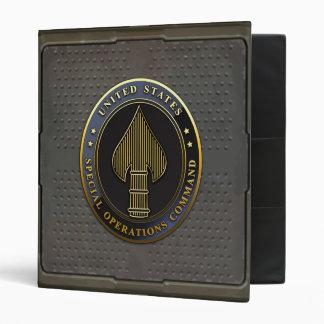 USSOCOM Emblem 3 Ring Binder