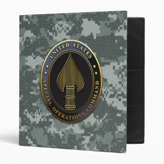 USSOCOM Emblem Binder