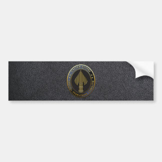 USSOCOM Emblem Bumper Sticker