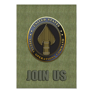 USSOCOM Emblem Card