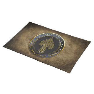 USSOCOM Emblem Cloth Placemat