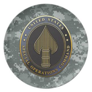 USSOCOM Emblem Dinner Plate