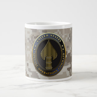 USSOCOM Emblem Giant Coffee Mug
