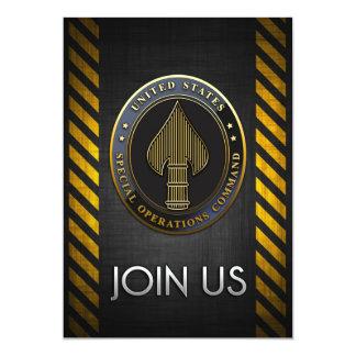 USSOCOM Emblem Custom Invitation