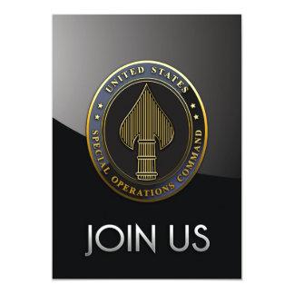 USSOCOM Emblem Personalized Announcement