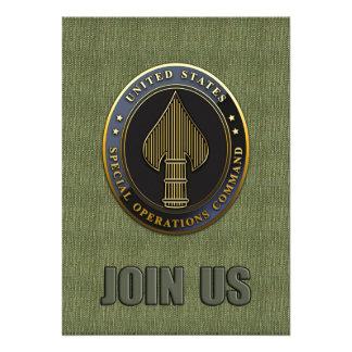 USSOCOM Emblem Invites