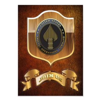 USSOCOM Emblem Custom Invitations