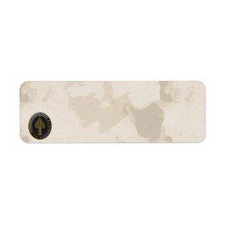 USSOCOM Emblem Custom Return Address Labels
