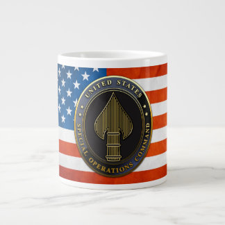 USSOCOM Emblem Large Coffee Mug