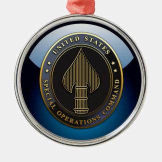 USSOCOM Emblem Metal Ornament