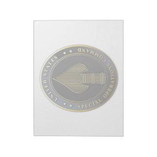 USSOCOM Emblem Notepads