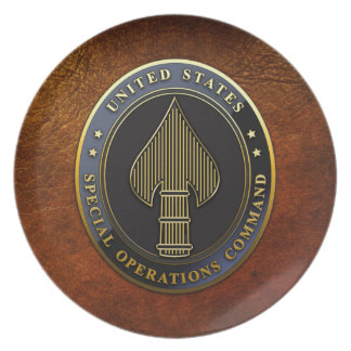 USSOCOM Emblem Plate