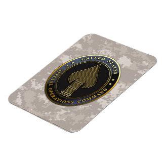 USSOCOM Emblem Rectangular Photo Magnet
