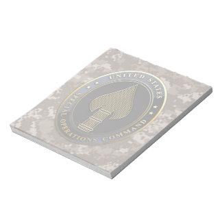 USSOCOM Emblem Scratch Pads