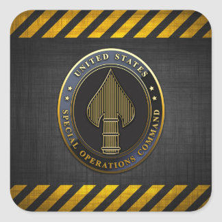 USSOCOM Emblem Square Stickers