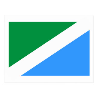 Ussolie-Sibirskoye(Irkutsk Oblast), Russia flag Postcard
