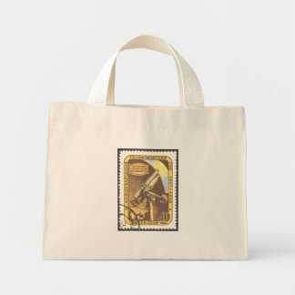 USSR 1957 Astronomy Stamp Art Mini Tote Bag