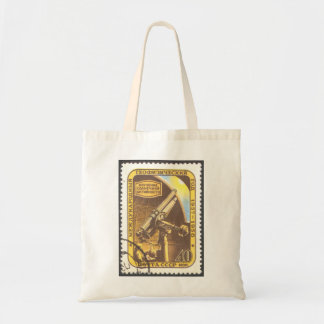 USSR 1957 Budget Tote Astronomy Stamp Art Tote Bags