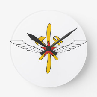 USSR Air Force, insignia for aircraft mechanics Wall Clocks