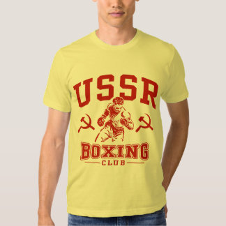 USSR Boxing T-Shirt