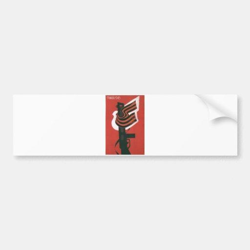 USSR CCCP Cold War Soviet Union Propaganda Posters Bumper Stickers