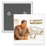 USSR CCCP Cold War Soviet Union Propaganda Posters Pinback Button