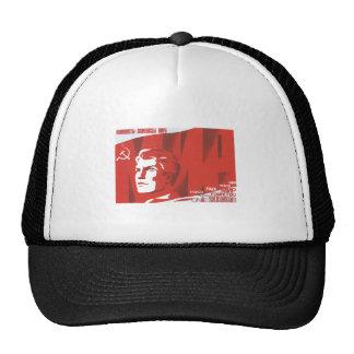 USSR CCCP Cold War Soviet Union Propaganda Posters Trucker Hats