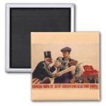USSR CCCP Cold War Soviet Union Propaganda Posters Refrigerator Magnets