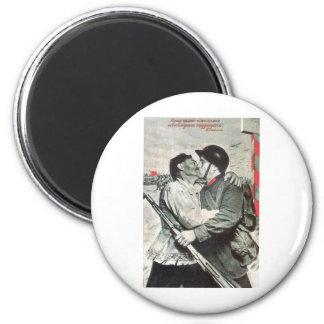 USSR CCCP Cold War Soviet Union Propaganda Posters Fridge Magnets
