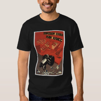 USSR CCCP Cold War Soviet Union Propaganda Posters T Shirt