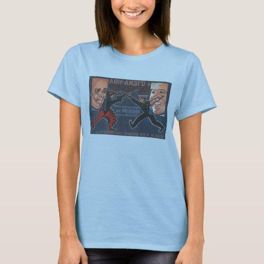USSR CCCP Cold War Soviet Union Propaganda Posters T-Shirt