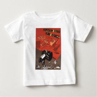 USSR CCCP Cold War Soviet Union Propaganda Posters Tee Shirt